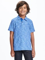 Old Navy Slub-Knit Pocket Polo for Boys