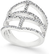INC International Concepts Silver-Tone Pavé Ring, Only at Macy's