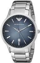 Emporio Armani Men's AR2472 Dress Silver Watch