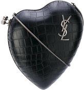 Saint Laurent Love Box clutch - women - Calf Leather/metal - One Size