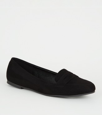 New Look Girls Suedette Loafers