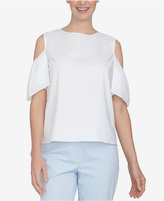 CeCe Off-The-Shoulder Cutout Top
