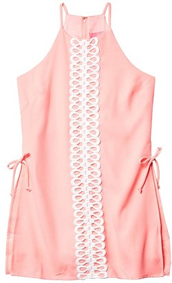 Lilly Pulitzer Pearl Romper (Lillys Coral) Women's Jumpsuit & Rompers One Piece