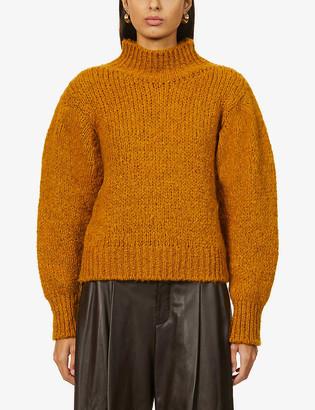 Sessun Dotty full-sleeve knitted jumper