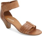 Paul Green 'Coco' Leather Ankle Strap Sandal (Women)