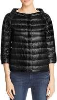 Herno Snap-Sleeve Cape Down Coat