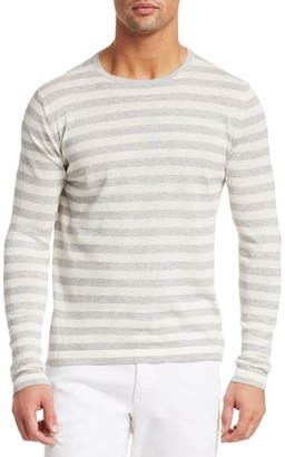 Saks Fifth Avenue COLLECTION Stripe Long-Sleeve Sweater