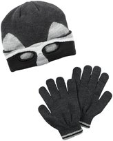 Carter's Hats and Glove Sets - Grey - 2T/4T