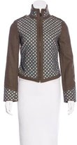 Tory Burch Embellished Wool Jacket w/ Tags