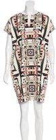 Mara Hoffman Geometric Print Cap Sleeve Dress