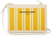 Balenciaga Navy Mini cotton-canvas cross-body bag