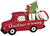 Primitives by Kathy Christmas is Coming Truck Countdown Figurine