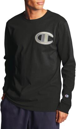 Champion Heritage Long Sleeve Logo T-Shirt