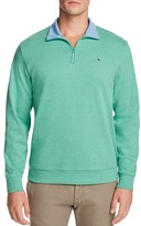 Vineyard Vines Quarter Zip Cotton Sweater
