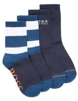 HUGO BOSS Kids' two-pack of cotton-blend socks