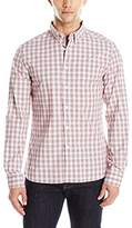 Kenneth Cole Reaction Men's Long Sleeve Slim Fit Ombre Shirt