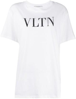 Valentino VLTN sequin-embellished T-shirt
