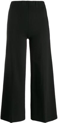 Liu Jo Cropped Wide-Leg Trousers