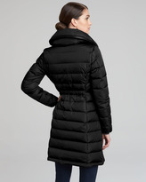 Moncler Long Puffer Coat, Black