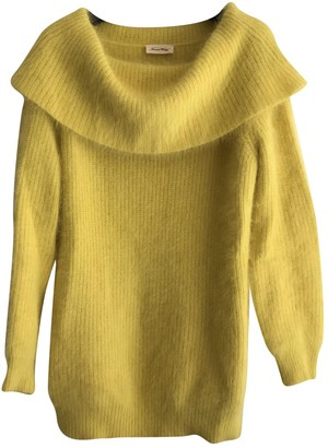 American Vintage Yellow Wool Knitwear for Women
