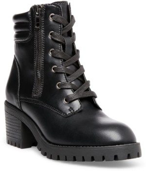 Madden-Girl Hushh Lace-Up Hiker Booties