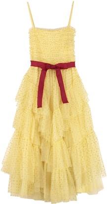 RED Valentino Glitter Polka Dots Tulle Dress