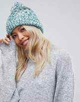 French Connection Knitted Pom Beanie Hat