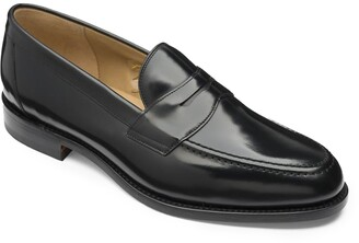 Loake Bros Ltd Loake Imperial Loafer in Black Polished Calf Leather