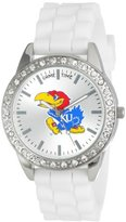 "Game Time Women's COL-FRO-KAN ""Frost"" Watch - Kansas"