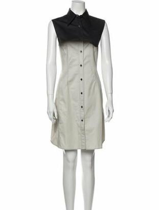 Dries Van Noten Knee-Length Dress Grey