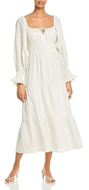 Faithfull The Brand Dariya Midi Dress