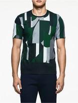Calvin Klein Platinum Mercerized Jacquard T-Shirt