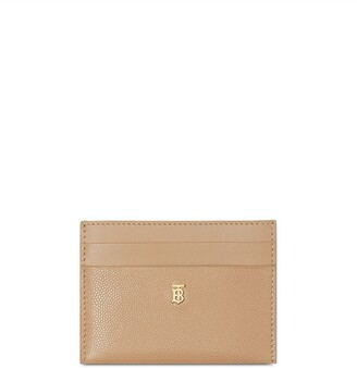 Burberry Monogram Motif Leather Card Case