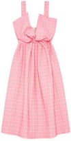 Giles Preorder Screw Jacquard Dress With Bow