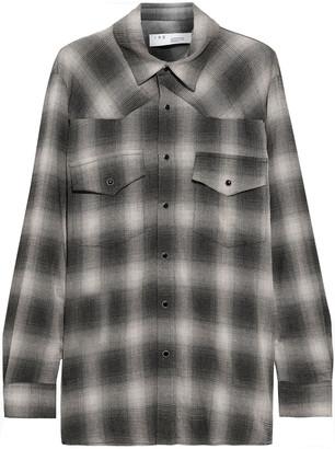 IRO Milo Checked Flannel Shirt