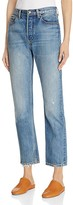 Vince Vintage Straight Jeans in Calico