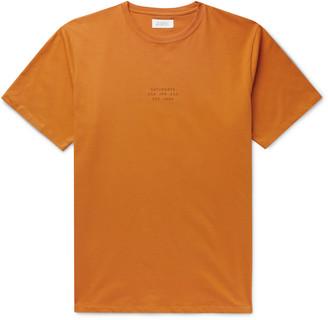 Saturdays NYC United Slim-Fit Printed Cotton-Jersey T-Shirt