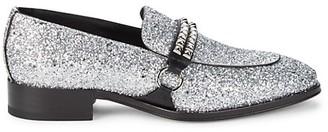 Giuseppe Zanotti Stud Leather Loafers