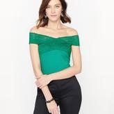 Anne Weyburn Lace T-Shirt
