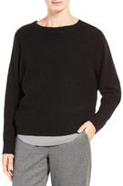 Nordstrom Cross Back Cashmere Sweater
