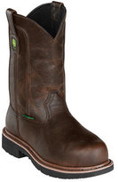 "John Deere Men's Boots 11"" Pull-On Steel Toe 4973 Boot"