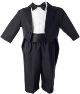 Asstd National Brand Keepsake 4-pc. Black Tuxedo Set - Boys newborn-24m