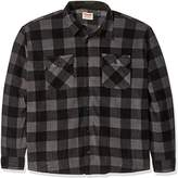 Wrangler Authentics Men's Big-Tall Long Sleeve Plaid Fleece Shirt