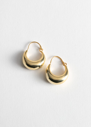 And other stories Droplet Hoop Earrings