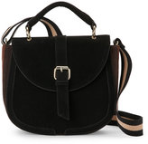 Imoshion Black & Brown Satchel Saddle Bag