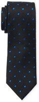 Isaac Mizrahi Textured Dotted Silk Tie