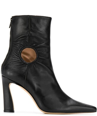 Kalda Forywindow cut-out ankle boots