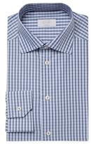 Eton Check Print Contemporary Fit Dress Shirt