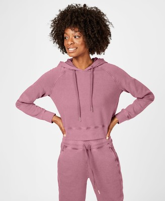 Sweaty Betty Garudasana Cropped Hooded Sweatshirt