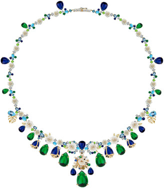 Anabela Chan Paradise Emerald 18K Gold Vermeil Necklace